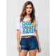 BILLABONG Sun Ur Buns Womens Tee