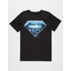 Stone-Cut Superman Mens T-Shirt