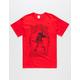 PURPLE HAZE Vitruvian Man Mens T-Shirt