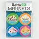 GAMA GO Cupcake Magnet Set