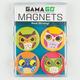 GAMA GO Owl Magnet Set