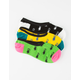 VANS 3 Pack Forbidden Fruit Canoodle Girls Socks