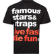 FAMOUS Stars & Straps Simple Mens T-Shirt