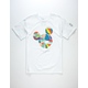 NEFF Disney Collection Abstract Mickey Face Mens T-Shirt