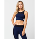 YOUNG & RECKLESS Shutter Structure Sports Bra