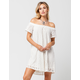 ROXY Azalea State Off The Shoulder Dress