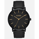 NIXON Porter Leather Black Watch