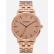 NIXON Porter Rose Gold Watch