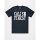 CALI'S FINEST Stacked Palms Mens T-Shirt