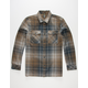 LOST Sonny Mens Flannel Shirt