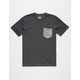LOST Easy Goes Knit Boys Pocket Tee