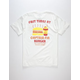 CAPTAIN FIN Burger Biz Mens T-Shirt