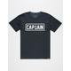 CAPTAIN FIN Naval II Mens T-Shirt