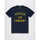 CAPTAIN FIN College Mens T-Shirt