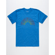 CAPTAIN FIN Rainbow Mens T-Shirt