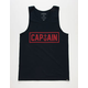 CAPTAIN FIN Naval Captain Mens Tank