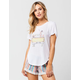 RIP CURL Goldfish Kiss Womens Tee