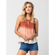 PATRONS OF PEACE Ombre Womens Tank