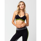 YOUNG & RECKLESS Block Sports Bra