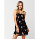 FULL TILT Multi Strap Floral Dress