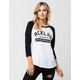 YOUNG & RECKLES Non Rookie Womens Raglan Tee