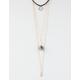 FULL TILT 3 Layer Geometric/Amethyst Necklace