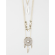 FULL TILT 3 Layer Dreamcatcher/Crystal Necklace