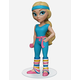 ROCK CANDY Workout Barbie Vinyl Collectible Figure