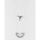 FULL TILT 2 Row Triangle/Boho Necklace