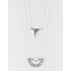 FULL TILT 2 Row Triangle/Boho Necklace