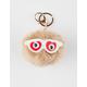 Nerdy Heart Eyes Pom Keychain Bag Charm