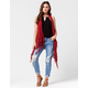 FULL TILT Arrow Crochet Womens Vest