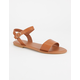 BAMBOO Ankle Strap Womens Sandals