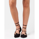 CITY CLASSIFIED Lace Up Ghillie Womens Flats