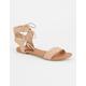 SODA Tassel Tie Womens Sandals