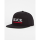 BLACK SCALE BLVCKLVSERS Mens Snapback Hat