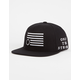 BLACK SCALE Protect Rebels Mens Snapback Hat