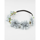 FULL TILT Pretty Blues Flower Crown