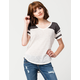 FULL TILT Burnout Womens Football Tee