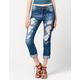 ZCO Destructed Womens Boyfriend Jeans