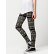 FULL TILT Chevron Floral Womens Leggings