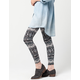 FULL TILT Ethnic Lace Womens Leggings