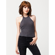 FULL TILT Hi Neck Womens Sweater Tank