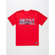 GRIZZLY Swamp Stamp Boys T-Shirt
