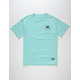 GRIZZLY Tribe OG Bear Mens Pocket Tee