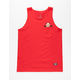 GRIZZLY Chris Joslin OG Bear Mens Pocket Tank