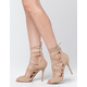 WILD DIVA Strappy Lace Up Womens Heels