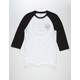 RVCA Pepper Mens Baseball Tee