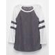 FULL TILT Hachi Shirttail Girls Varsity Tee