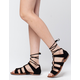 CITY CLASSIFIED Lace Up Womens Sandals